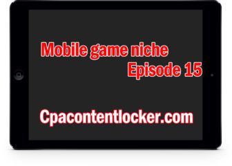 Niche keyword for content locker (mobile game niche episode 15)