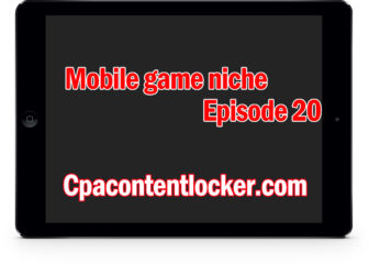 Niche keyword for content locker (mobile game niche episode 20)