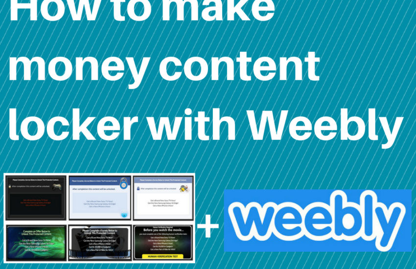 2018 – Make money with cpa content locker